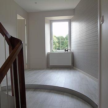 aménagement rénovation escalier décoration chauffage électricité chambre Etables sur mer Côtes d'Armor tous corps d'état