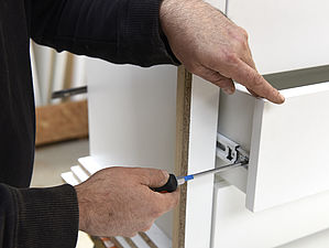 Atelier agencement dressing mobilier salle de bains finitions Côtes d'Armor tous corps d'état