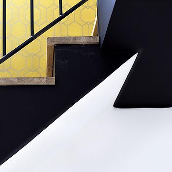 décoration escalier rénovation parquet tapisserie Saint brieuc Côtes d'armor
